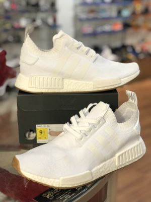 White gum pack Nmd R1 size 9.5 for Sale in Silver Spring, MD