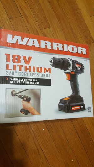 Warrior drill brand new for Sale in Washington, DC