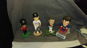 Astros Roger Clemens 2004; Tiger Woods 2004; David Carr inaugural year of Texans, Superman, 2002 for Sale in Houston, TX