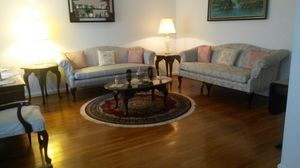 New beautiful solid cherry wood living room set for Sale in Silver Spring, MD