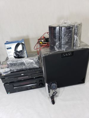 Free delivery Pioneer VSX-D814+Pioneer elite DV-C36 with JVC speakers for Sale in Silver Spring, MD