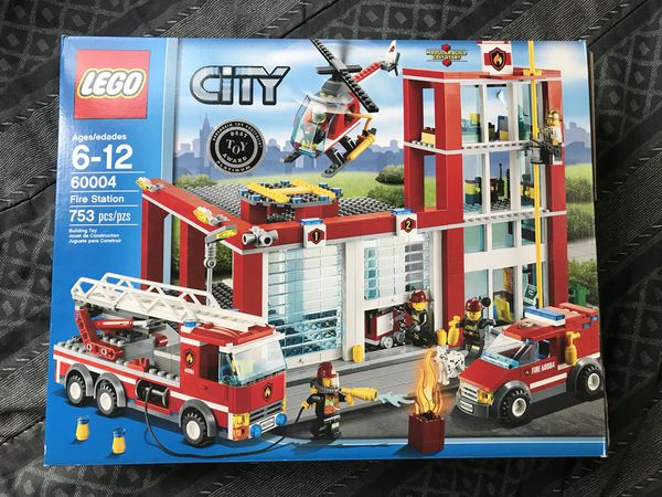 Lego Fire Station Set 60004 For Sale In Columbus Oh Offerup