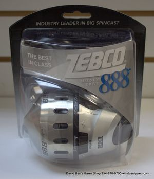 ZEBCO Magnum Drive 888 Spincast Reel ZS4573 for Sale in North Lauderdale, FL