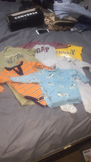 Lot baby boy clothes 0-9 months for Sale in Mount Rainier, MD