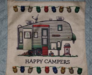 5 th wheel camper trailer pillow cover for Sale in Palm Harbor, FL