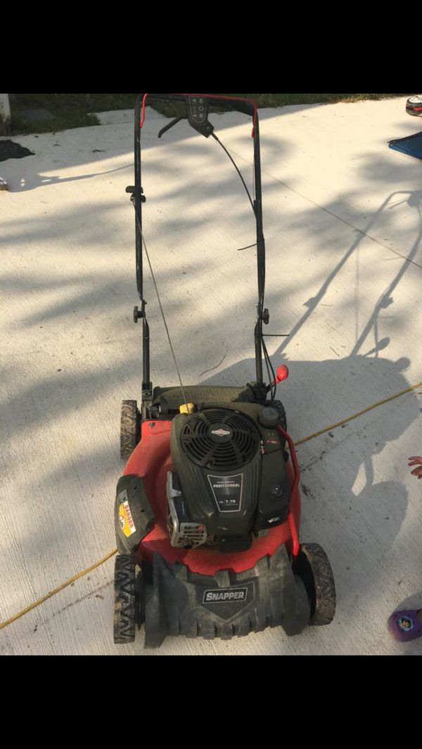 Lawn Mower Grass Cutting Machine Snapper For Sale In Richmond