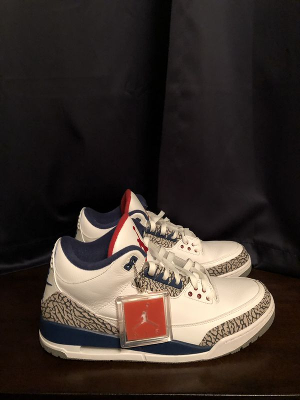 21cafea45714 Air Jordan 3 Retro OG True Blue for Sale in Burnsville