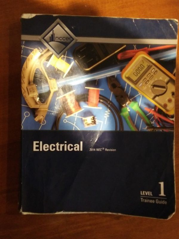 Nccer Electrical Level 1 Book for Sale in Houston, TX - OfferUp