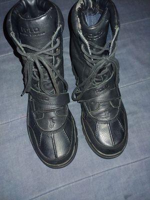 Black polo boots still fresh for Sale in Washington, MD