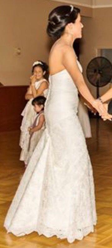 Mermaid lace wedding dress size 4-6