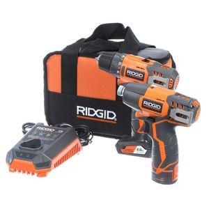 Ridgid 12v drill and impact driver for Sale in Deltona, FL