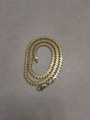 Mens gold plated chain great condition 20 inch length for Sale in Orlando, FL