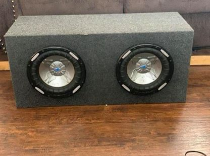 Power Acoustik Subs and Sony Amp