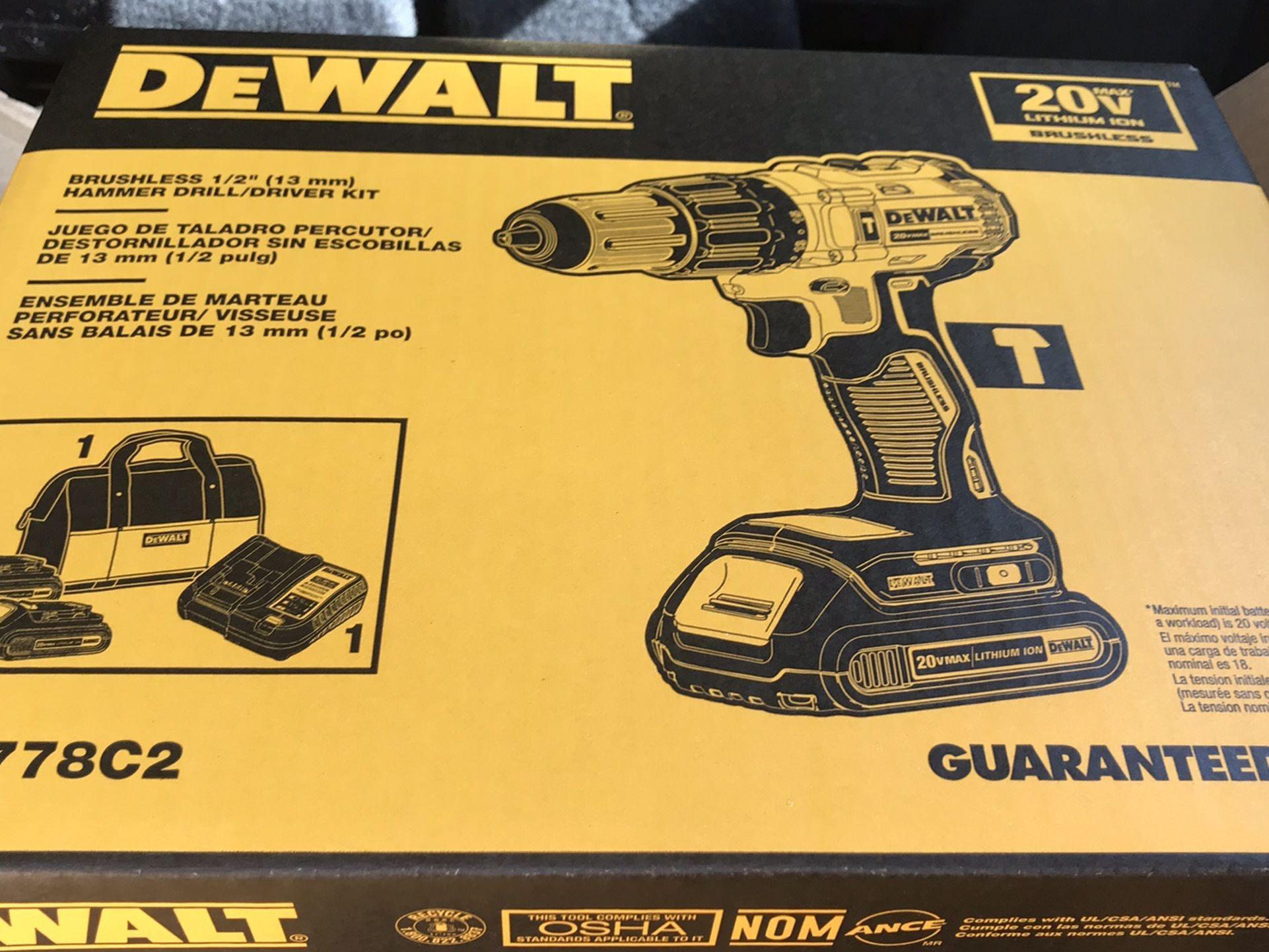 DeWalt Brushless Hammer Drill