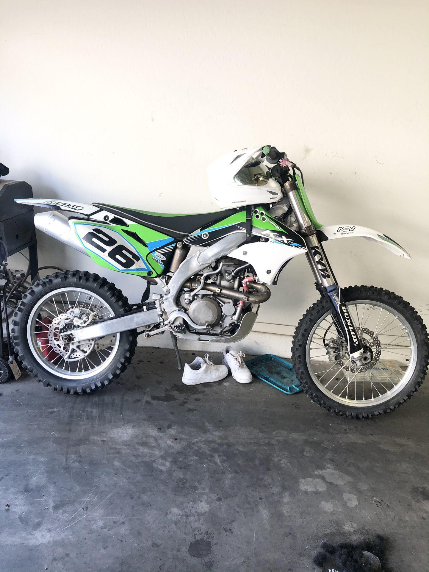 2007 Kawasaki kx450