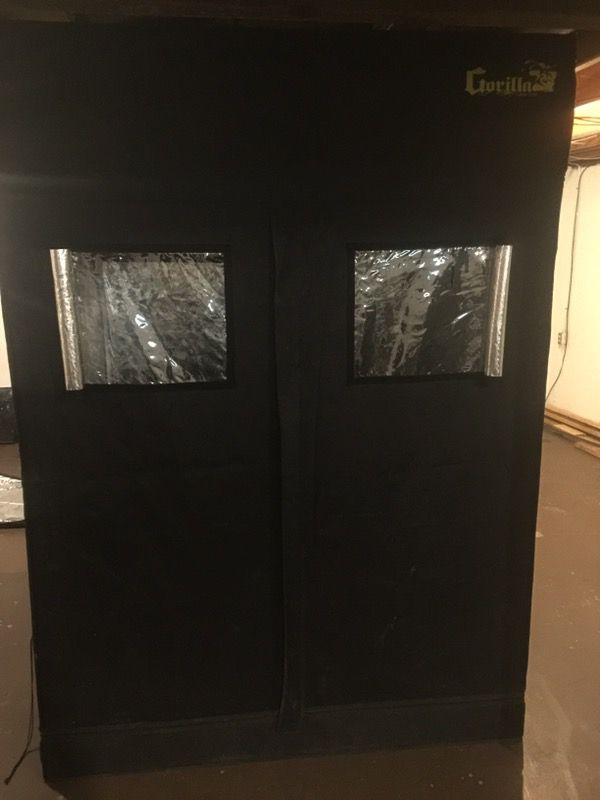 5x5 x 7 gorilla grow tent for Sale in Lansing, MI - OfferUp
