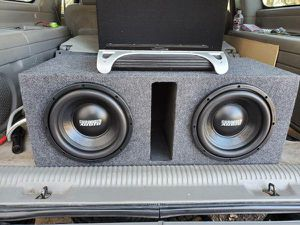 Photo 2 10 Sundown audio subs in ported box and jbl 600gti amp