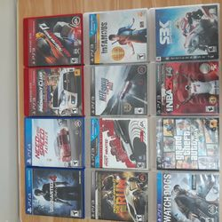 PS4 AND PS3 DISC FOR SELL Thumbnail