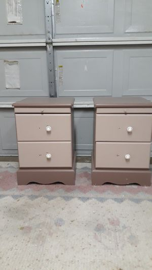 Two Night Stands Solid Wood for Sale in Houston, TX