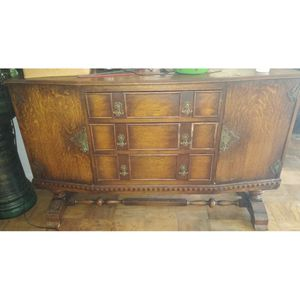 Brown wooden dresser for Sale in Washington, DC