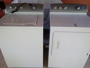 Photo GE Profile washer and dryer