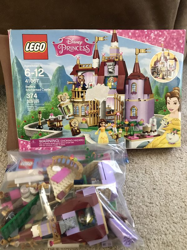 Disney Princess LEGO Beauty & the Beast Set - Belle's Enchanted Castle  41067 for Sale in Wilmington, NC - OfferUp
