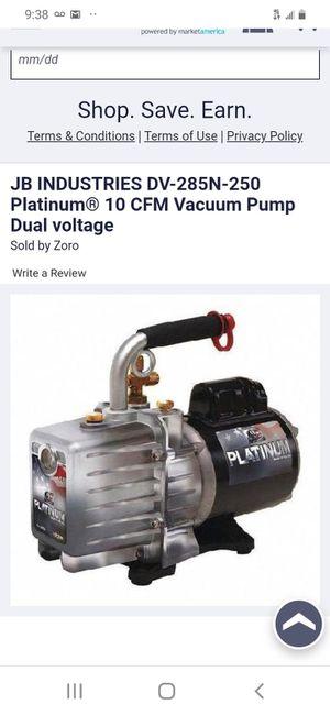 Photo Jb platinum 10 cfm vacuum pump