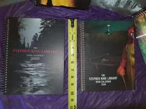 Stephen King desk calenders for Sale in Victoria, VA