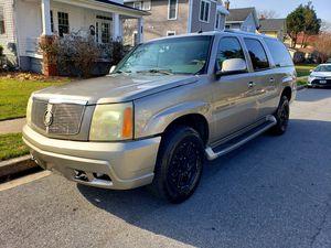 2003 Cadillac Escalade ESV AWD for Sale in Adelphi, MD