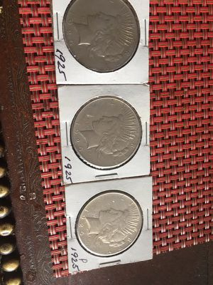 3, 1925 Peace Dollars for Sale in Chicago, IL
