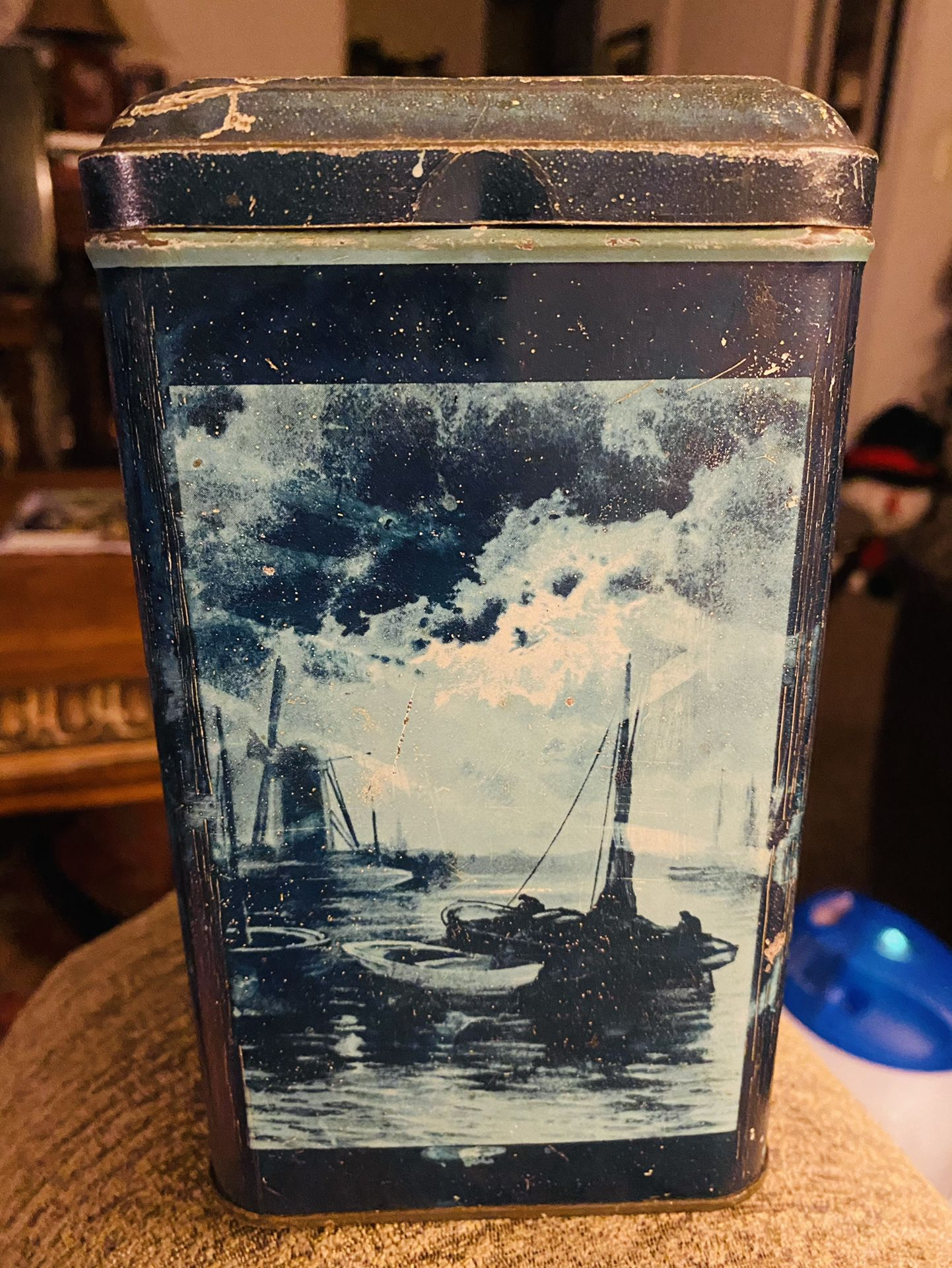 Antique Coffee Can