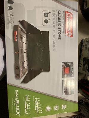 Coleman Classic 2-Burner Portable Propane Stove for Sale in Arlington, VA