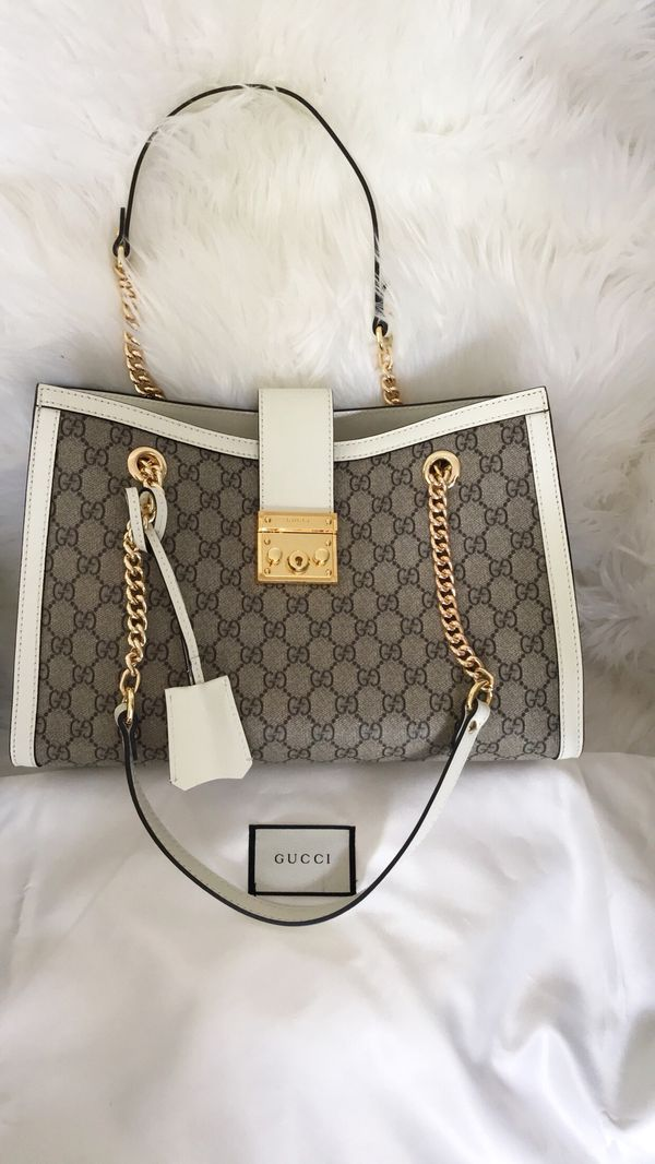 2764b3535d9 Authentic Gucci padlock medium GG shoulder bag for Sale in Federal ...