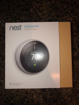 Nest learning thermostat for Sale in Greenbelt, MD
