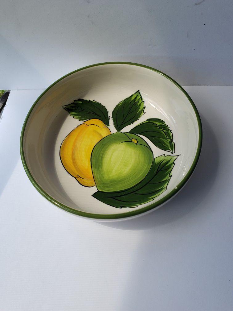Tabletops Gallery Lemon Wreath Bowl