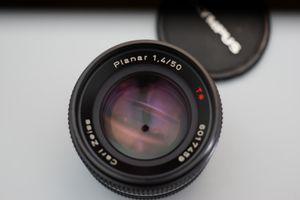 Contax Carl Zeiss Planar 50mm 1.4 AEJ Lens. for Sale in Santa Clarita, CA