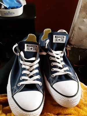 Blue Converse All Stars never worn size 13 need to sell today for Sale in Port Orchard, WA