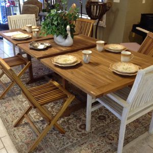 First Grade Teak Wood Table For In Alpharetta Ga