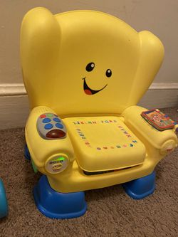 Childrens Toy and Chair Thumbnail