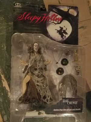 Mcfarlane Toys The Crone Sleepy Hollow Action Figure for Sale in MIDDLEBRG HTS, OH