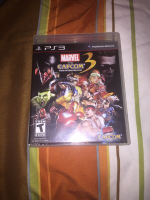 Marvel vs capcom 3 for Sale in Houston, TX