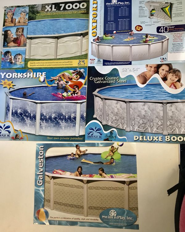 Above ground swimming pools $699-$1299. Buy before 2019 pricing ...