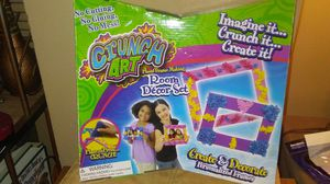 Kids Arts and crafts, Crunch Art set for Sale in Hilldale, PA