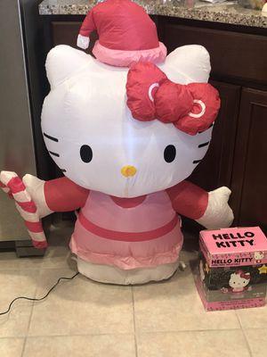 Photo Hello Kitty inflatable