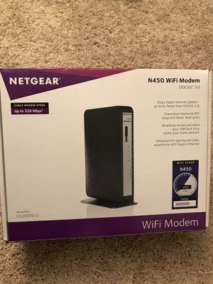 NETGEAR WiFi Modem for Sale in Lansdowne, VA