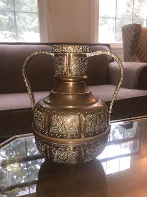 Antique Turkish Vase (Immediate Move Out Sale) for Sale in Annandale, VA
