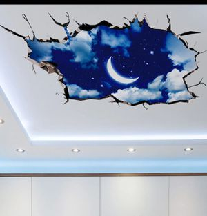 3D outer space wall/ceiling sticker for Sale in Philadelphia, PA