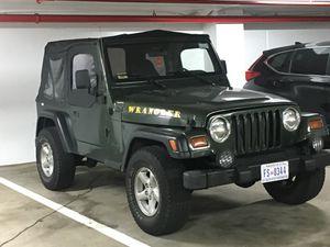 1997 Jeep Wrangler 131,000 título limpio solo dos dueños motor transmisión en buenas condiciones precio negociable solo efectivo for Sale in Washington, DC
