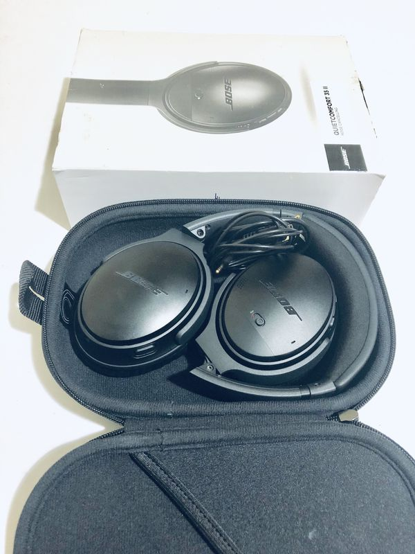 Bose QuietComfort 35 II Wireless Headphones Noise Cancelling, with Alexa -  Black for Sale in Boynton Beach, FL - OfferUp