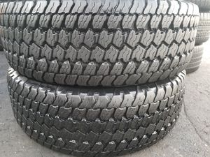 Two good set of Goodyear tires for sale 265/70/17 for Sale in Washington, DC